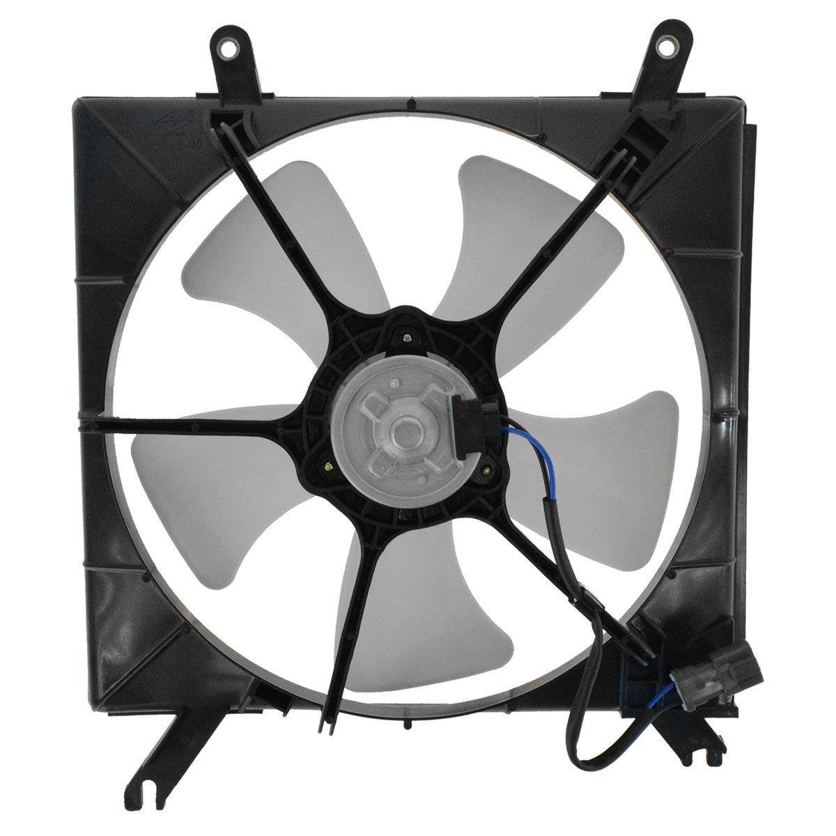 Radiator Cooling Fan /& Motor Assembly for 90-93 Honda Accord