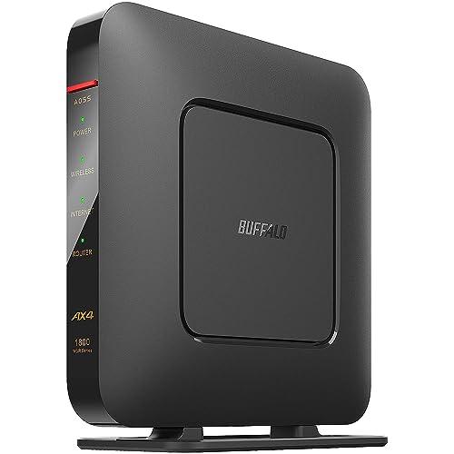 価格の安いエントリーモデルで手軽に始めるWi-Fi 6! WSR-1800AX4