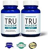 TRU NIAGEN - Niacin (Vitamin B3) | Advanced NAD+ booster | Nicotinamide Riboside NR | Increases Energy & Promotes Anti Aging - 250mg Per Serving (120 capsules/125mg)