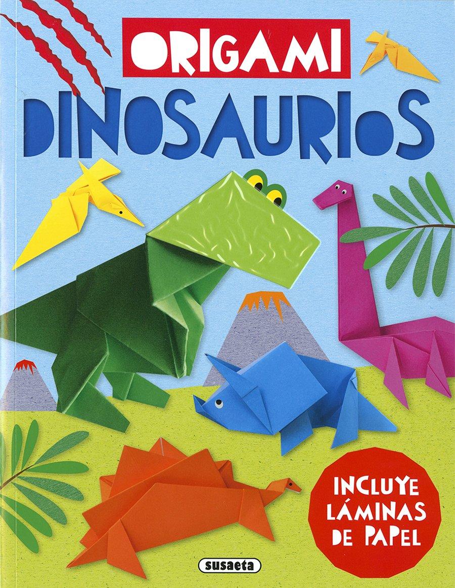 Dinosaurios (Origami) (Español) Tapa blanda – 10 abril 2018