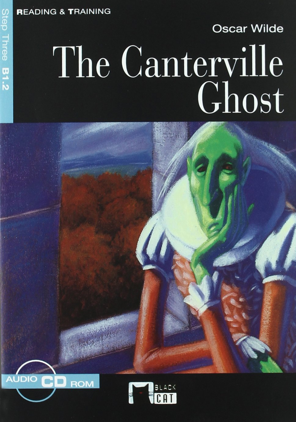 The Canterville ghost (Black Cat. reading And Training)