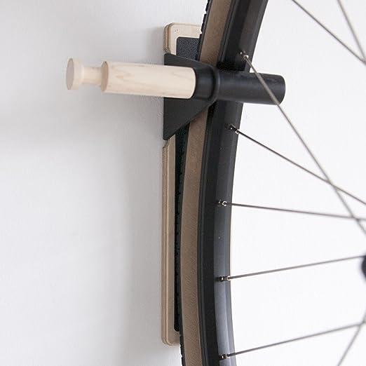 Ascensor multiusos gancho para bicicleta (no Protector de parte inferior), Negro – minimalista de pared para gancho, interior bicicleta Rack: Amazon.es: Hogar