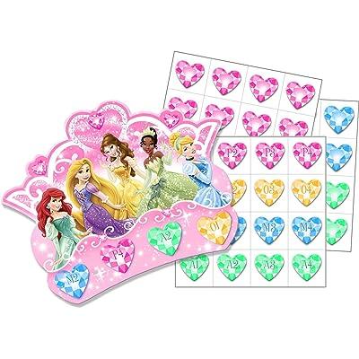 Hallmark Princess Bingo Party Game (8 Bingo Cards): Toys & Games