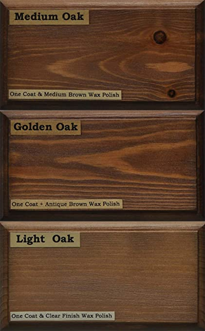Tinte para madera a base de agua de Littlefairs, respetuoso con el medio ambiente, Colección Shades of Oak, Tester Pot
