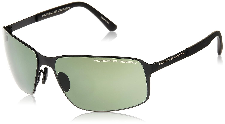 [ポルシェデザイン]PORSCHE DESIGN メガネ メンズ B00FVX3062  ブラック 日本 63 (FREE サイズ)