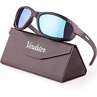 Verdster Airdam – Gafas de Sol Polarizadas para Hombre para Moto – Protección UV, Diseño Cómodo Envolvente con…