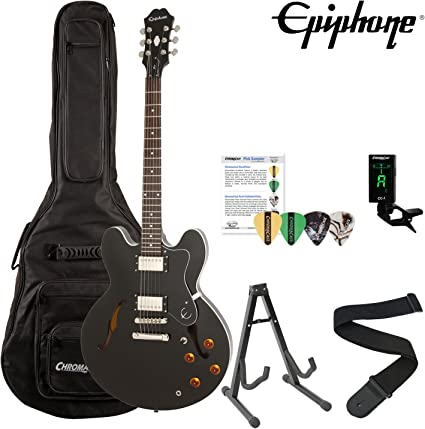 Epiphone ES-335 Dot Archtop guitarra eléctrica Kit con ChromaCast ...