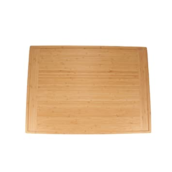 BambooMN Universal Premium Pull Out Cutting Boards - Under Counter  Replacement - Designed To Fit Standard Slots Heavy Duty Kitchen Board with  Juice ...