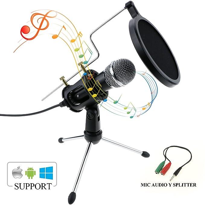 21 opinioni per Zexuan CondenZexuan Condensatore Microfono, Professione Portatile PC