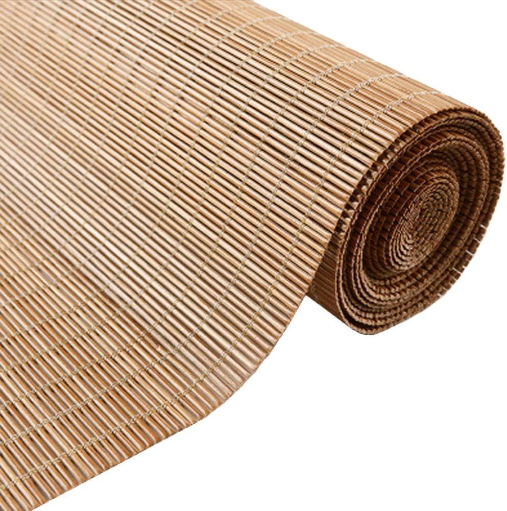 Persiana de bambú Persianas Enrollables Exteriores Impermeables, Porche/ Pérgola/Balcón/Patio Trasero/Persianas para Sombrillas, 60cm / 80cm / 100cm / 120cm / 140cm De Ancho: Amazon.es: Hogar