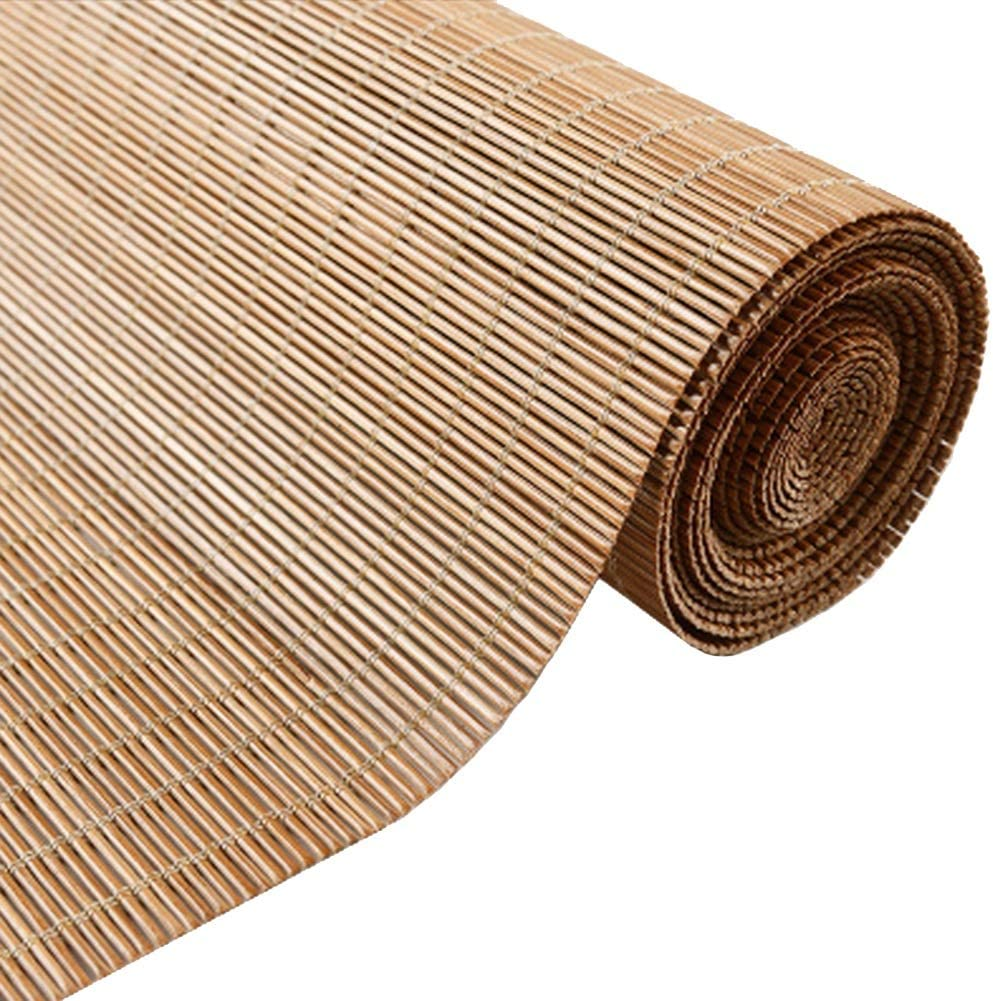 Persiana de bambú Persianas Enrollables Exteriores Impermeables ...