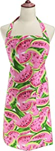 LilMents Watermelon Kitchen Baking Cooking Bib Apron