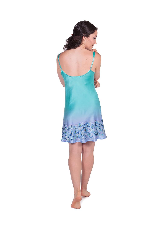 1e1bc3bc79 TexereSilk Women s Short Silk Nightgown Chemise - Beautiful Elegant Gifts  at Amazon Women s Clothing store