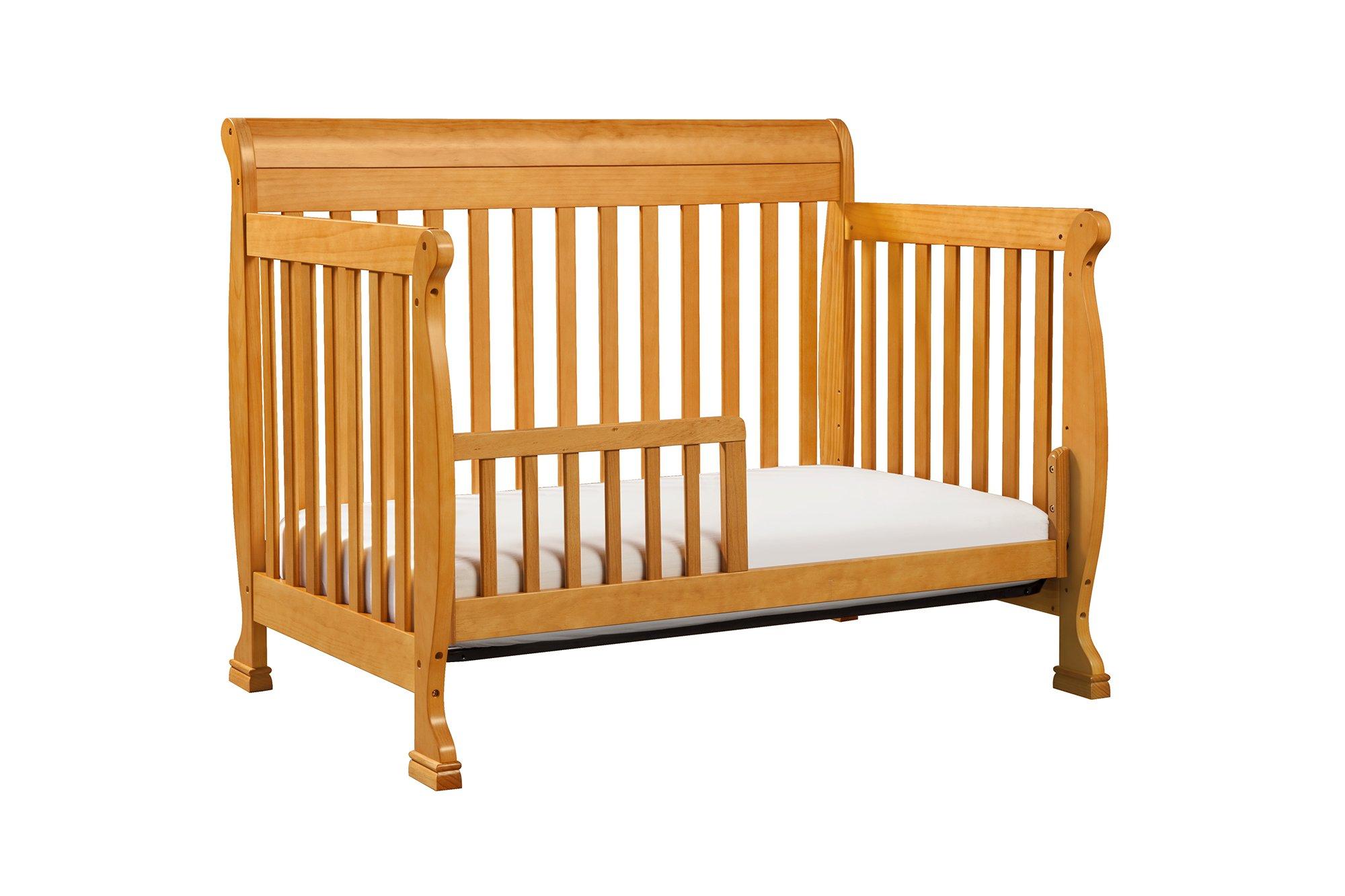 DaVinci Kalani 4-In-1 Convertible Crib, Honey Oak by DaVinci (Image #8)