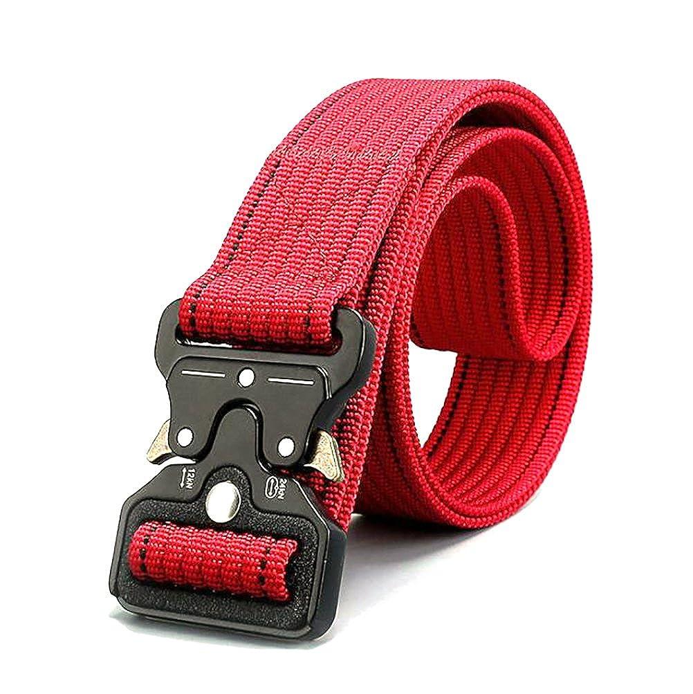 TY belt Unisex Hombres Mujeres 3.8cm Tácticas Cinturón en Nylon