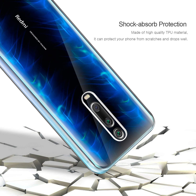 ColiColi f/ür Xiaomi Mi 9 Pro H/ülle 360 Grad Handyh/ülle Spiegel Clear View Flip Wallet Schutzh/ülle D/ünne Vorne Hinten Handytasche Booklet Kratzfest Bumper mit Standfunktion Blau