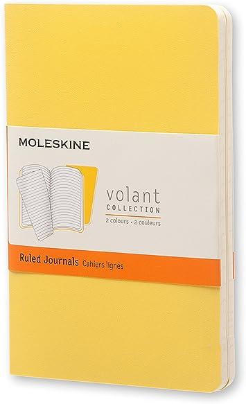 Moleskine QP711M10M11 - Cuaderno de rayas, pocket 9 x 14, color ...