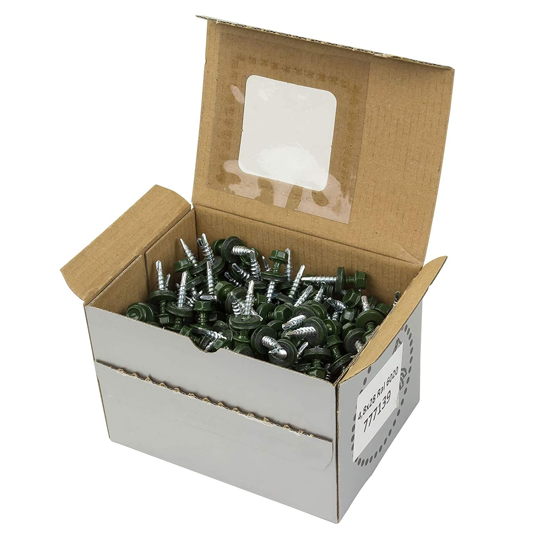 Trapezblechschrauben 4,8x28 RAL 9005
