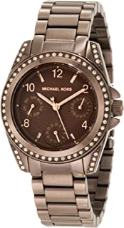 Michael Kors Womens MK5614 Blair Espresso Watch