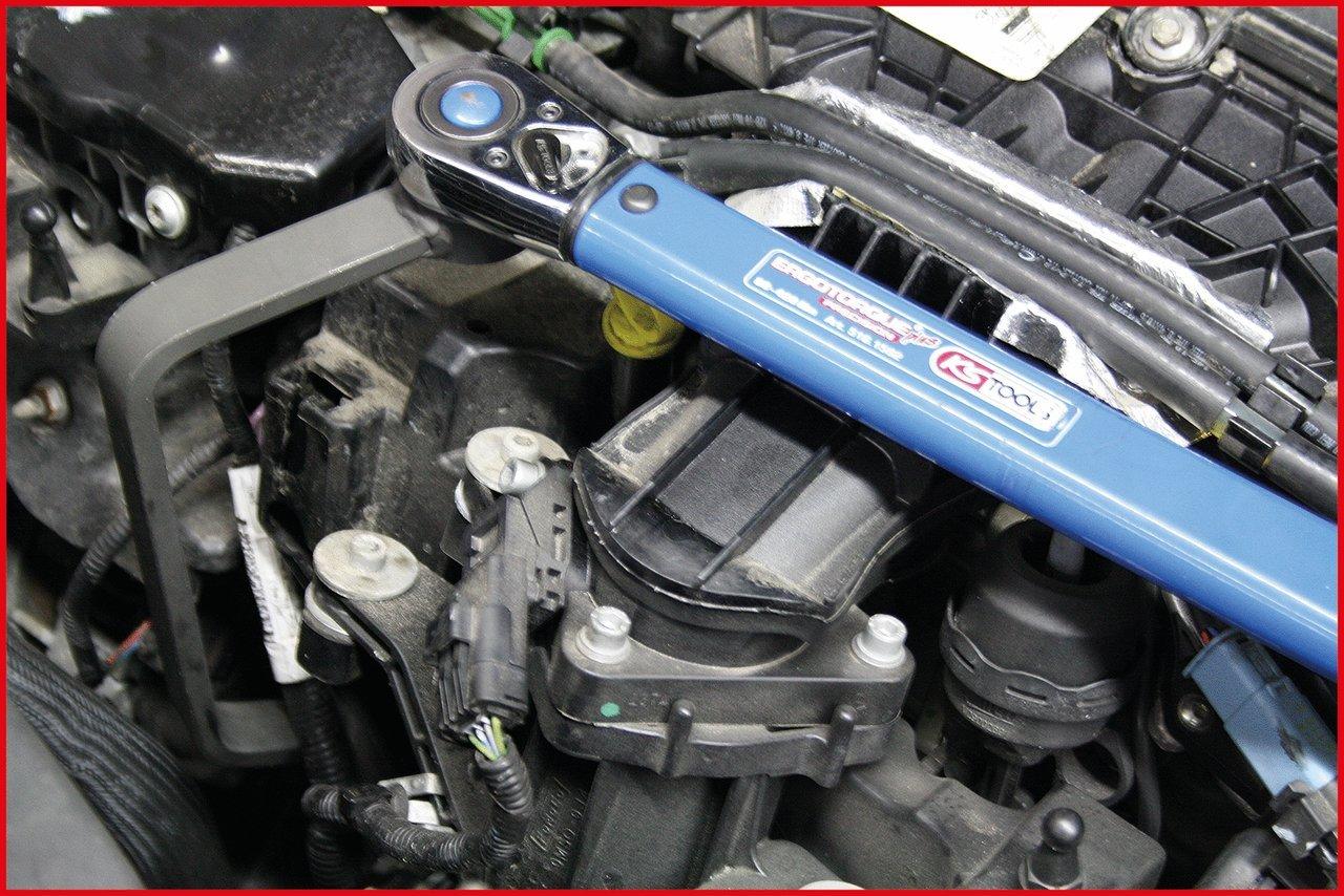 Jaguar Peugeot Duratorq-TDCi // HDI dual cam shaft diesel engines Citro/ën KS Tools 150.9306  1//2 Oil filter wrench for Ford