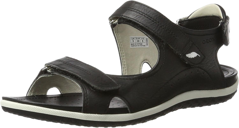Geox Women's Sandal Vega 1 Flat