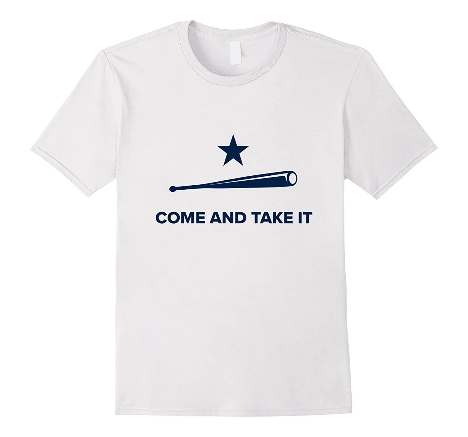 Come And Take It - HOU Baseball Tee-T-Shirt