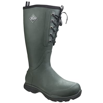 53a182010d892 Muck Boots Mens Arctic Excursion Lace Tall Outdoor Casual Boots (7 UK)  (Green