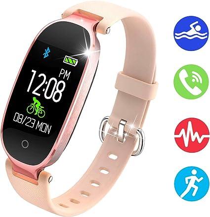 Amazon.com: NEWBEING - Reloj de fitness para mujer ...