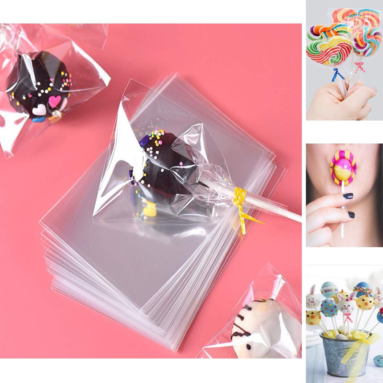 Amazon.com: Lollipop – Juego de 100 bolsas de papel para ...