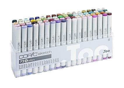 Copic sketch markers 72 set b amazon