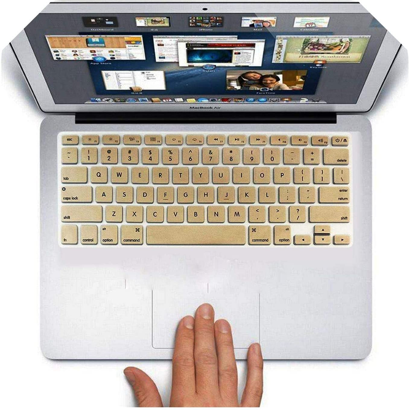 Cubiertas del teclado del ordenador portátil para el MacBook ...
