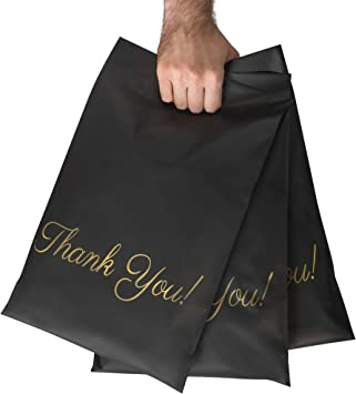 10x13 BLACK Color Flat Poly Mailers Shipping Postal Packaging Envelope Bags with Self Seal Adhesive You Choose