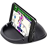 Car Phone Holder Phone Mount for Car Anti-Slip Silicone Car Pad Dashboard Phone Holder Phone Stand Compatible with iPhone, Sa