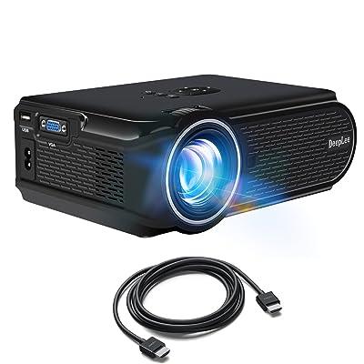 DeepLee DP90 1600 Lumens Mini LED Projector