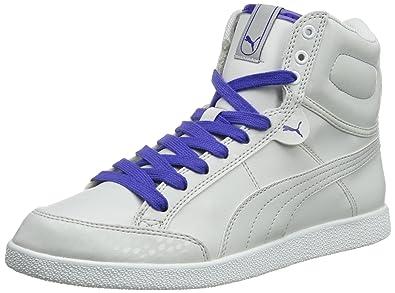 1cc9633e909a5b Puma Womens Puma IKAZ Mid Jazz Wn s Hi-Top Slippers Gray Grau (glacier gray  02) Size  7  Amazon.co.uk  Shoes   Bags