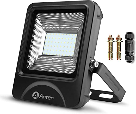 5 X Anten 50W 6000LM IP66 Floodlight LED Foco Proyector LED Para ...