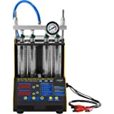 BELEY AUTOOL CT-150 Car Motorcycle Petrol Fuel Injector Cleaner Ultrasonic Cleaner and Injection Tester for Car 4-Cylinder