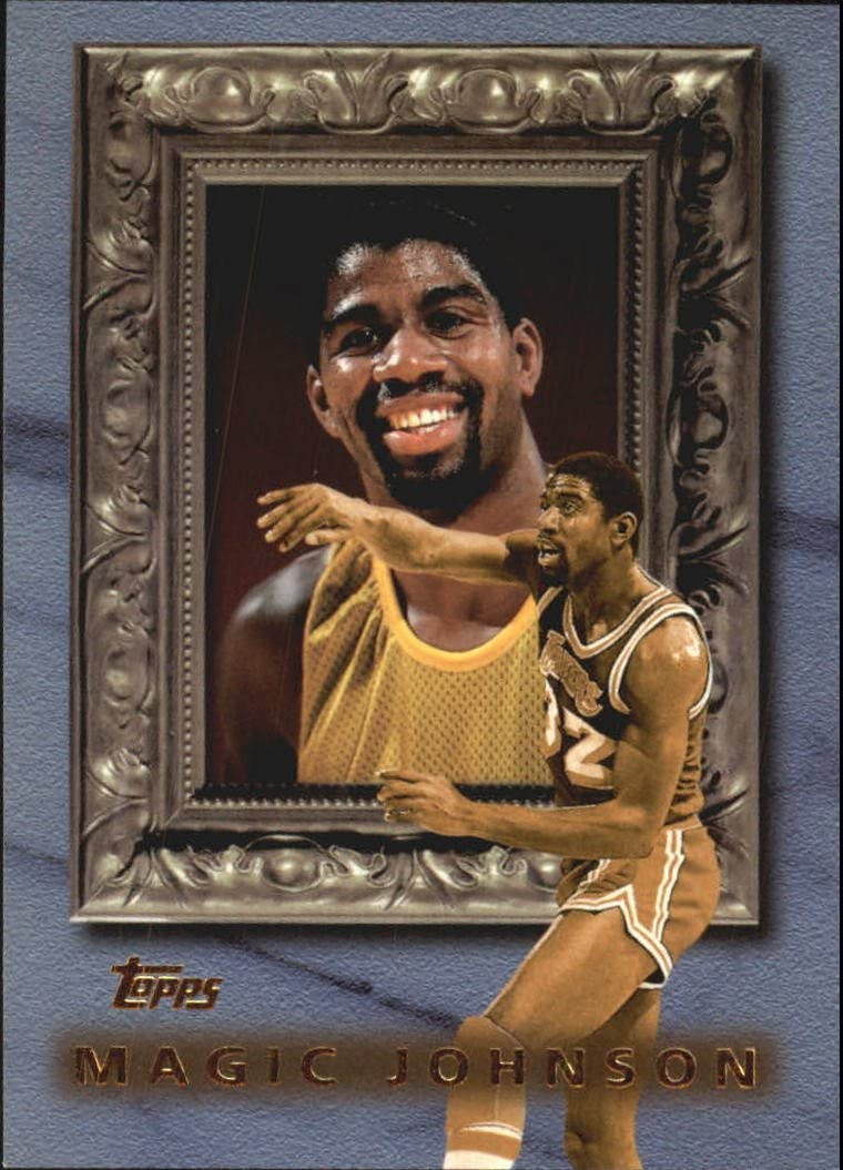 1998-99 #CL2 Magic Johnson Near Mint//Mint 1998 Topps Classic Collection Basketball Card
