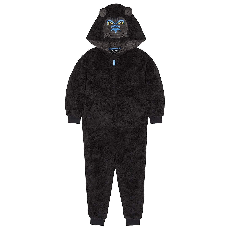 4 KIDZ Traje de Dormir de Forro Polar para niños con diseño de ...