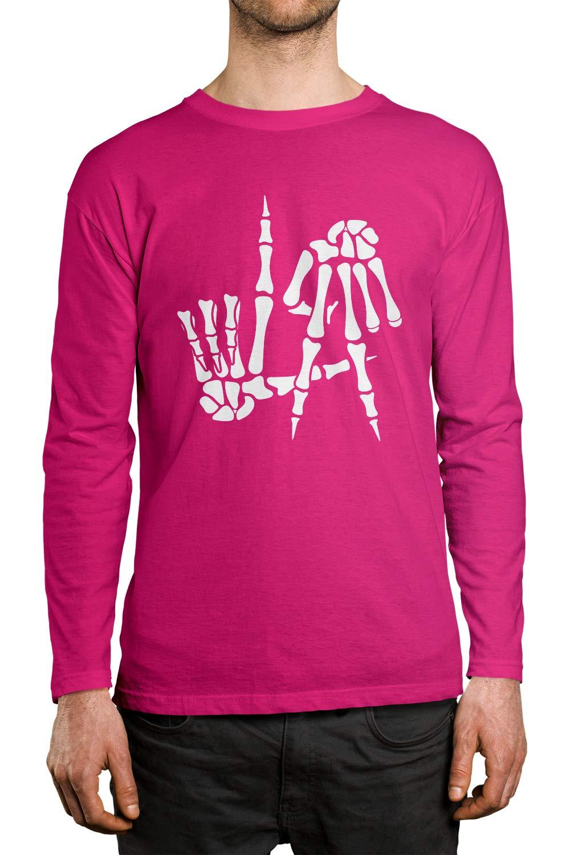 Apparel Skeleton Hands La S Shirt