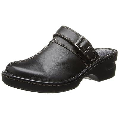 Eastland Womens Mae Clogs-7 W Black | Mules & Clogs