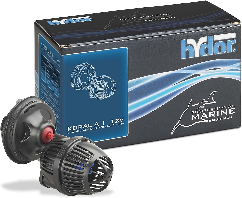 Hydor Koralia 1 Controllable 12V Circulation Pump 180-450 GPH use with Koralia Wavemaker 2-Way or 4-Way Controller