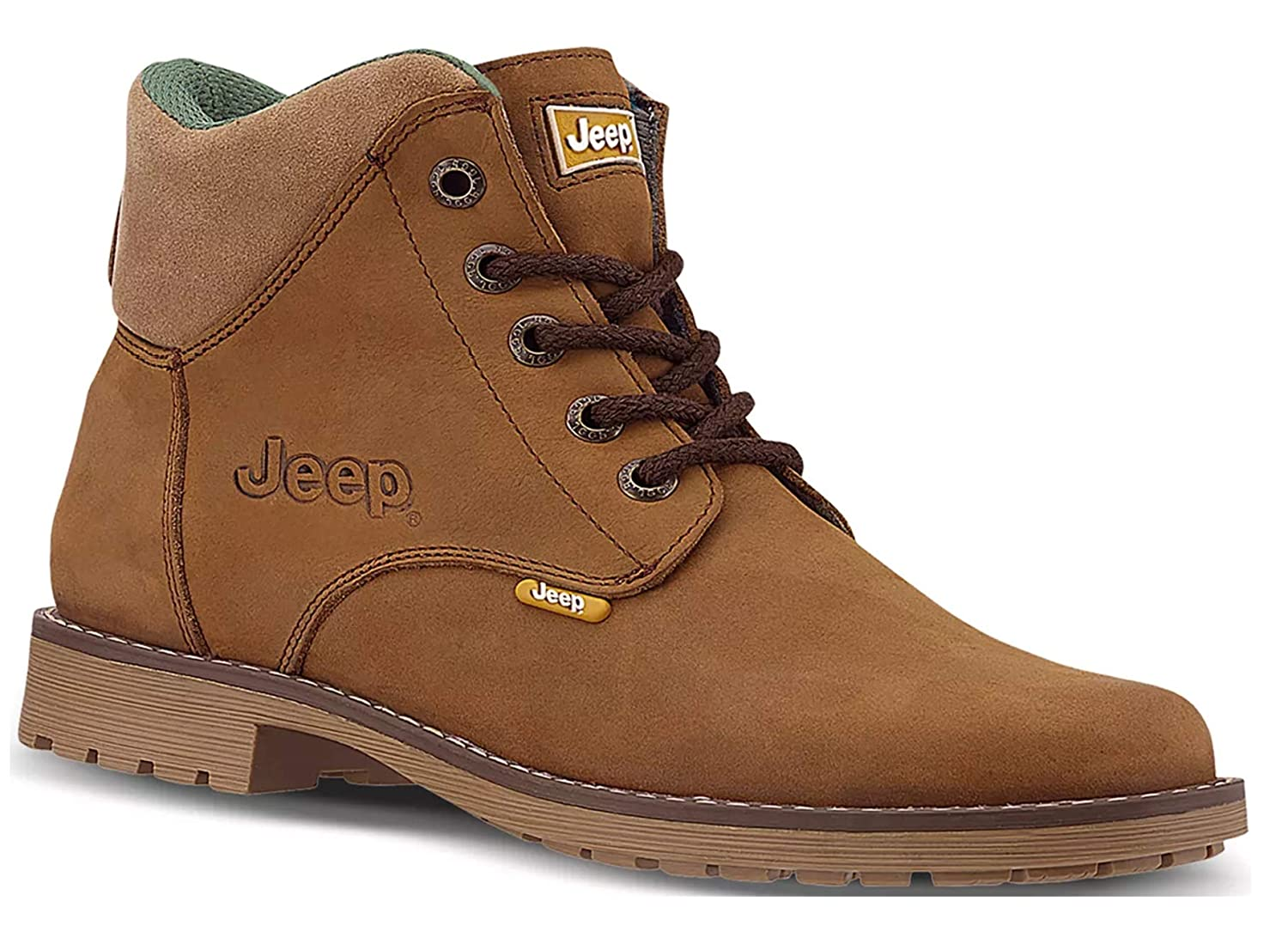 Jeep Women's Hiking Boot Series Ankle High Leather Booties Outdoor Camping Shoes