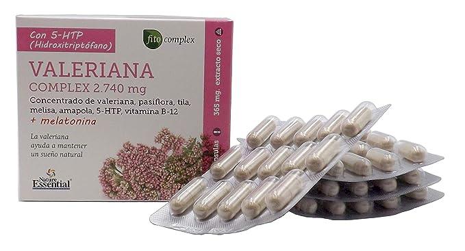 ... 5-HTP, vitamina B-12 y Melatonina, relajante natural, ayuda a conciliar el sueño, propiedades antioxidantes: Amazon.es: Salud y cuidado personal