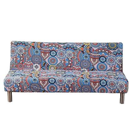 Surprising Amazon Com Winomo Futon Cover Armless Sofa Slipcover Download Free Architecture Designs Scobabritishbridgeorg