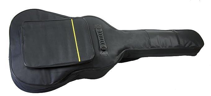 Mayfield Plaza Funda de Guitarra Clásico de la Bolsa de la Guitarra Acústica Acolchada 41 Pulgadas Negro: Amazon.es: Instrumentos musicales