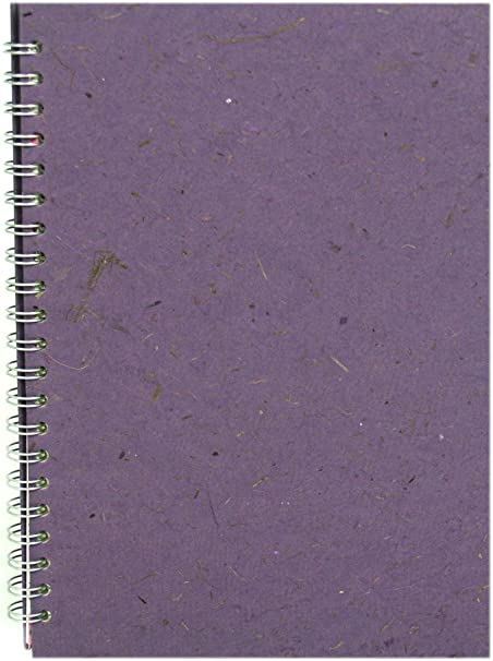 Pink Pig A4 Portrait Sketchbook WhiteCartridge paper 35 Leaves Sea Grey  2 PACK