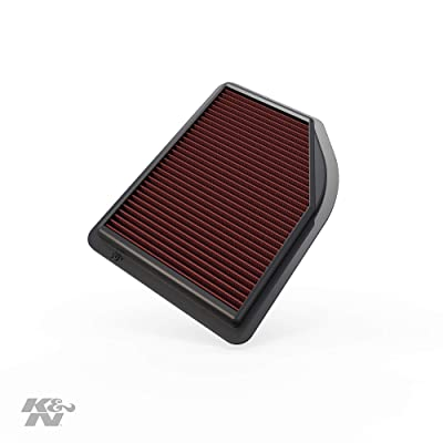 K&N Engine Air Filter: High Performance, Premium, Washable, Replacement Filter: 2012-2104 Honda CR-V L4 2.4L, 33-2477: Automotive