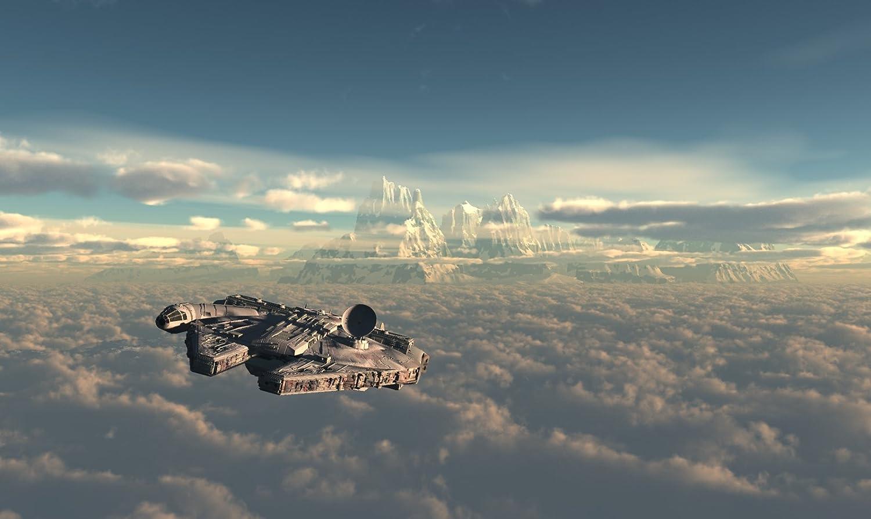 Posterhouzz Movie Star Wars Millennium Falcon Hd Wallpaper