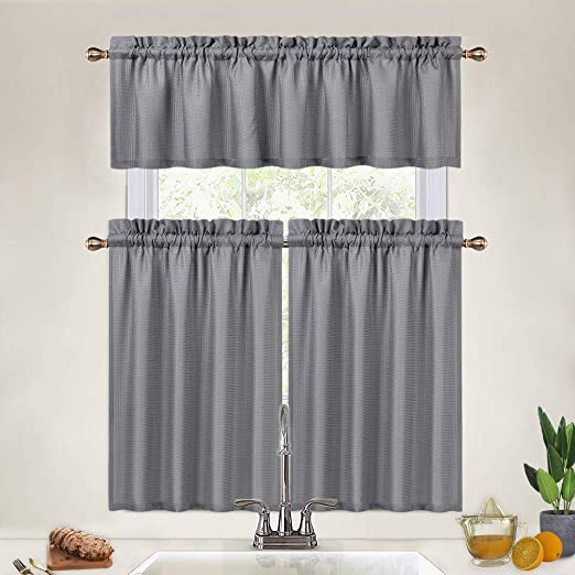 100/% linen Cafe curtains Country gingham curtains Farmhouse kitchen curtains Cottage made to measure short curtains Small window curtains